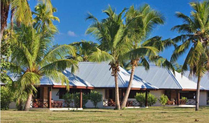 Bedroom exteriors of Bird Seychelles