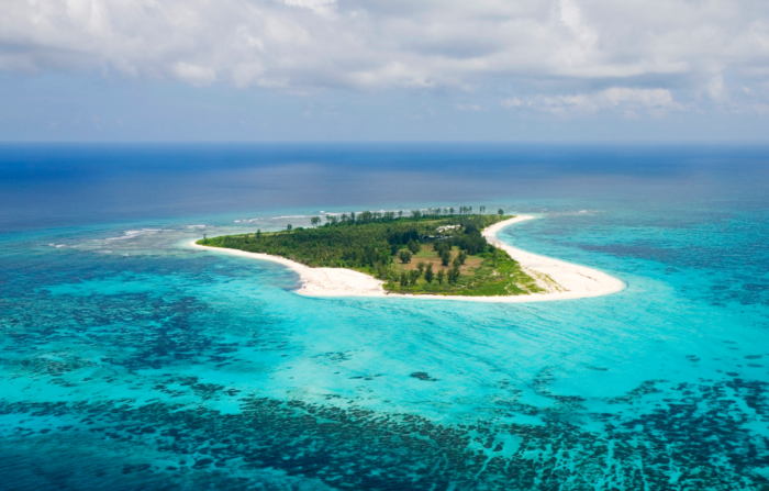 Bird Island Aerial view from the north